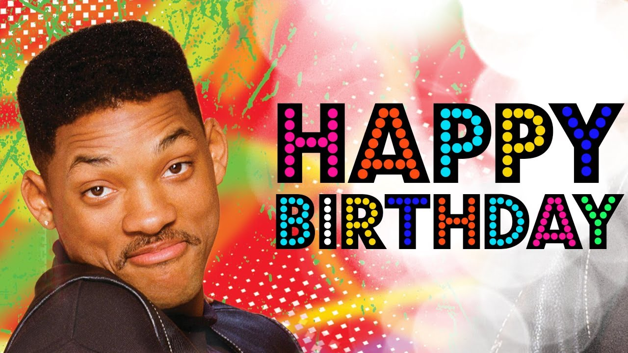 Happy birthday will smith youtube sciox Image collections
