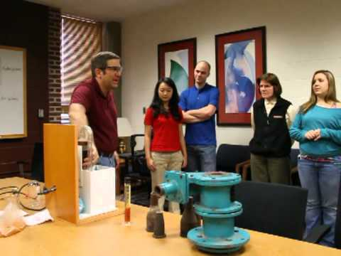 Engineer's Week Hydrocyclone Demo at Michigan Tech  E-Week
