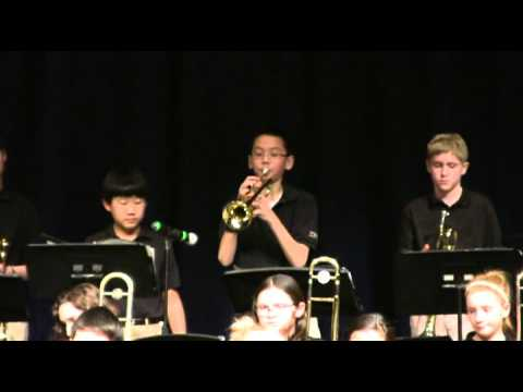 Lake Bluff Middle School Gold Jazz Band 2016-Henry Mancini