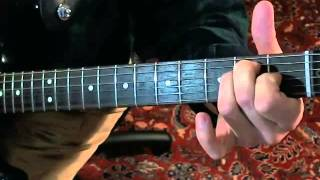 Dave Mason - Show Me Some Affection - Guitar Lesson 1 of 2