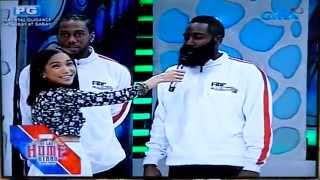 FIBR All-Stars on Eat Bulaga! (Kawhi Leonard, James Harden, Damian Lilard, etc.)