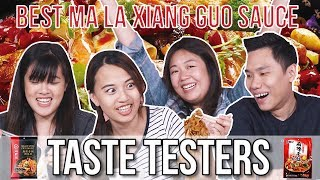 Best Instant Ma La Xiang Guo Sauce in Singapore   Taste Testers   EP 87
