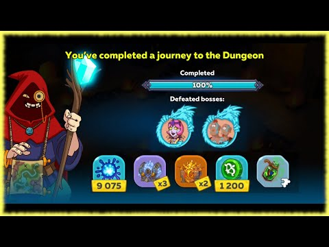 No Randoms Allowed! - Dungeon - 100% With Friend - Hustle Castle