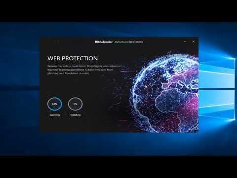 BitDefender Free Antivirus -  How To Download And Install