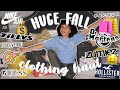 my huge fall clothing haul i have a shopping problem aliyah simone