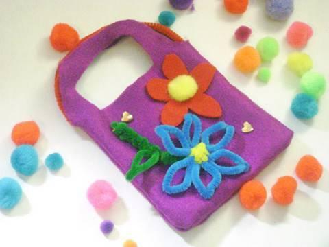 da3e37ae0 Como hacer una bolsita de fieltro para niñas - manualidadesconninos -  YouTube