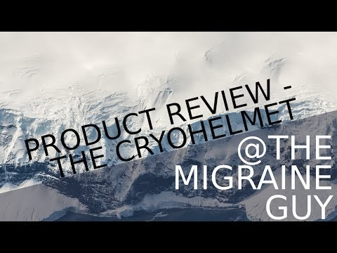 The Migraine Guy - Product Review - The CryoHelmet by Catalyst