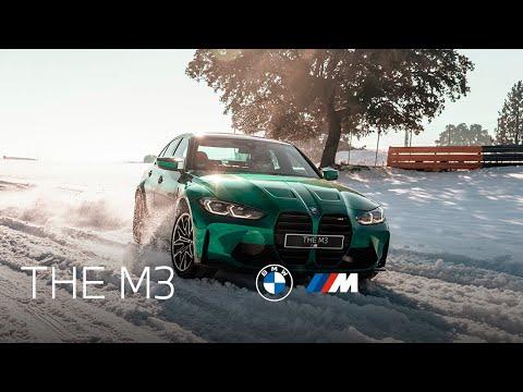 Nuevo BMW M3 sobre nieve en el circuito del Jarama: Adrenalina pura