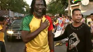 Tiken Jah Fakoly a Ile Maurice Cite Barkly + Press conference (HQ) DVD Reggae donn sa 4 PART 2