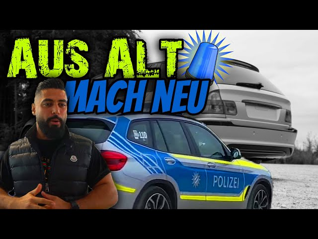 🚨KRIPO NIMMT UNS HOCH!!!-BMW E46 wurde geprinzt