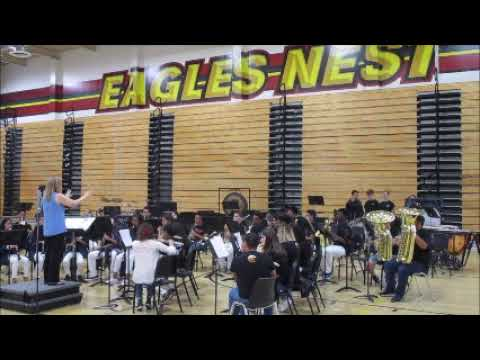 Heritage Intermediate School Hawk Band Silent Auction Performance Etiwanda High School April 27 2019