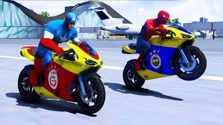 4 Büyük Takım Yarış Motorları Ehliyet Sınavında