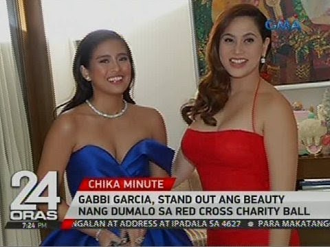 gabbi garcia stand out ang beauty nang dumalo sa red cross charity ball youtube. Black Bedroom Furniture Sets. Home Design Ideas