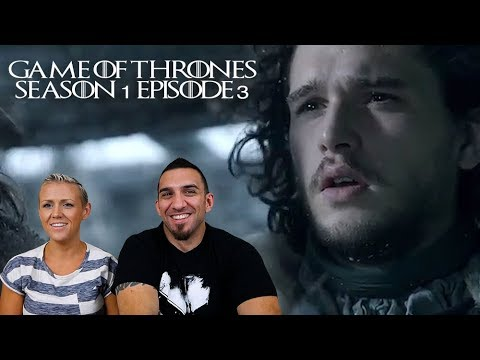Game Of Thrones Season 1 Episode 3 'Lord Snow' REACTION!!