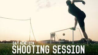 Long Range Shooting and Volley Training | The Pre-Preseason Program | Day Nineteen