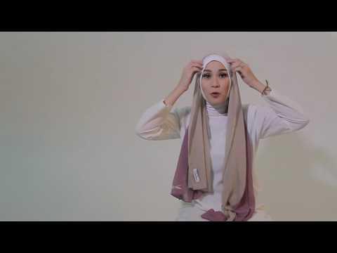 tutorial hijab yuma by Zaskia Mecca