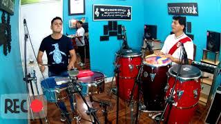Percusión con.mi.Hermano jhon peña