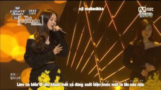 [Vietsub + Kara] Cry Again - DAVICHI (live)