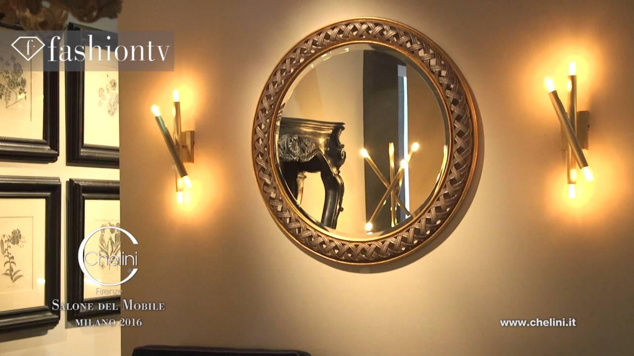 Chelini firenze salone del mobile 2016 fashion tv youtube for Salone mobile firenze