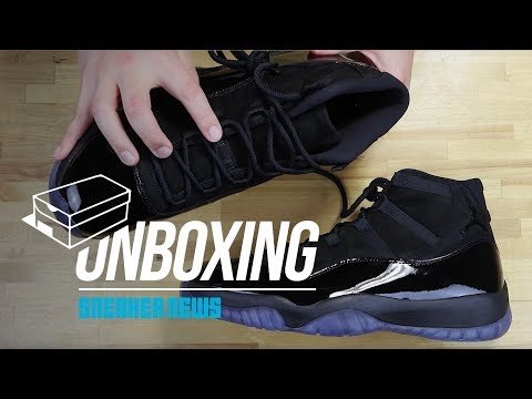"""Unboxing The Air Jordan 11 """"Cap and Gown"""""""
