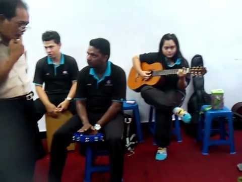 ku Menunggu( Rossa  version acoustic cover)