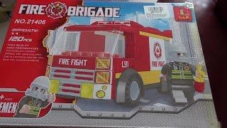 конструктор Ausini Fire Brigade 25422