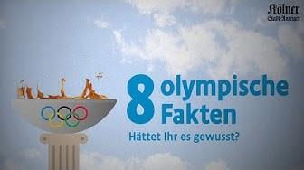 Acht Fakten zu den Olympischen Spielen