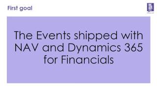 NAV TechDays 2016: Migrating to Events
