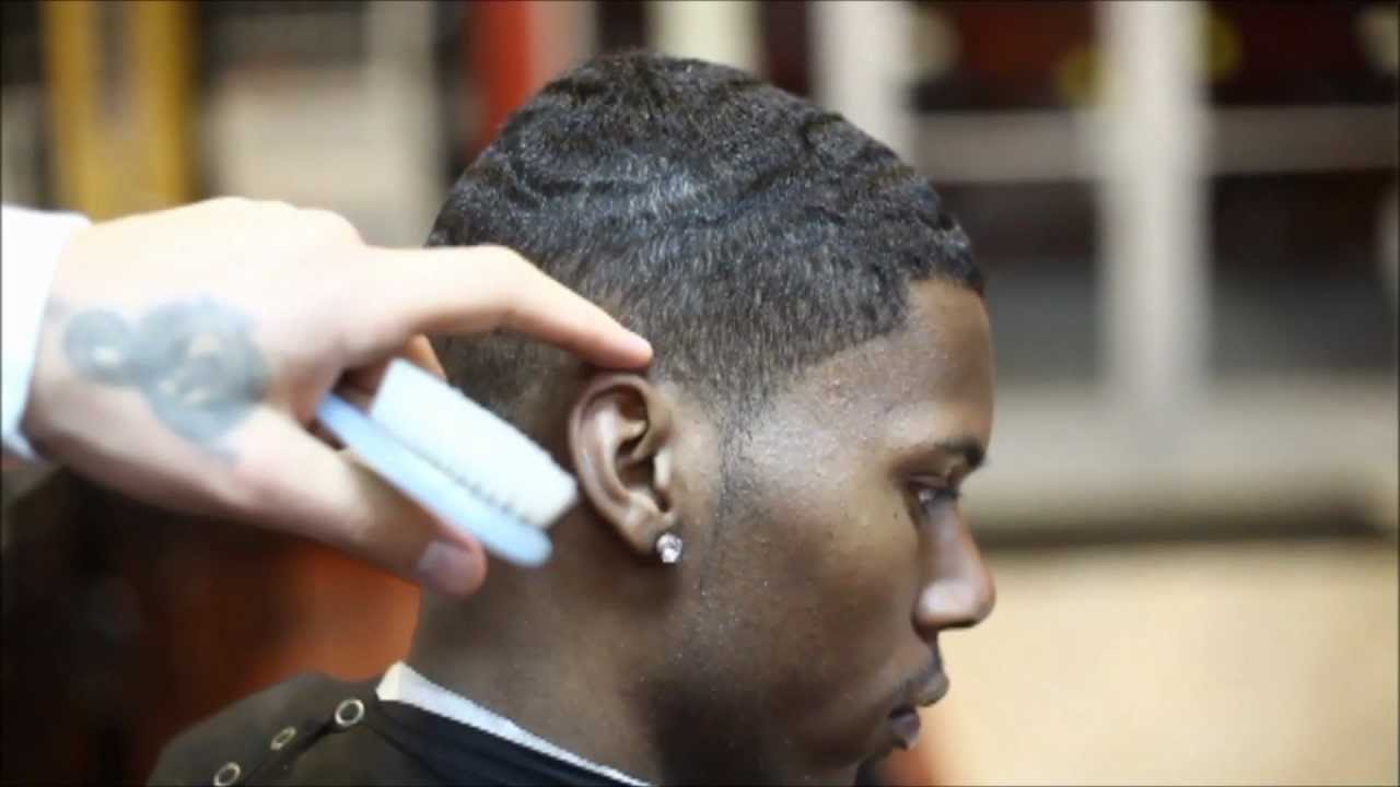 THE LIGHT SHADOW FADE | WITH EDGE UP | HD   TIMELESS BARBERS   YouTube