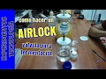 watch he video of Cómo hacer un AirLock. Airlock and homemade ethanol
