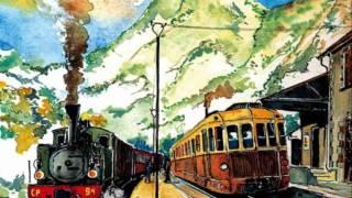 Mauris - Lo tren dei pinhas - le train des pignes