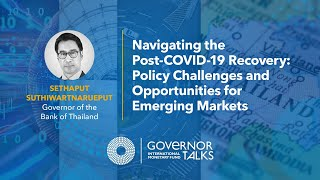 Navigating the post-COVID-19 Recovery: Policy Challenges and Opportunities for Emerging Markets