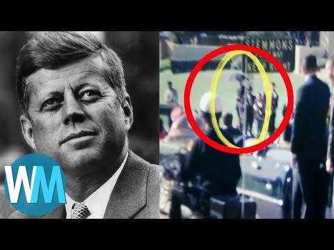 Top 10 Craziest JFK Conspiracy Theories