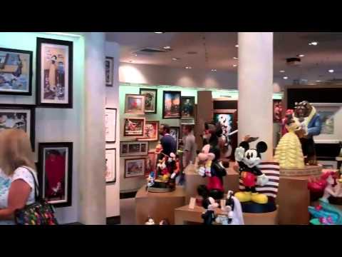 The Art Of Disney Store at Downtown Disney 2011 HD
