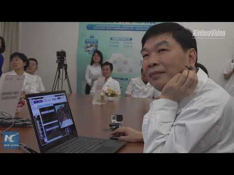 Doctor performs China's first 5G surgery on human brain