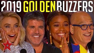 Gambar cover Every GOLDEN BUZZER Audition On America's Got Talent 2019! | Got Talent Global