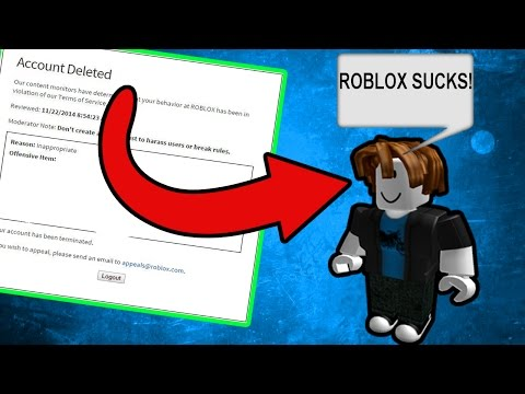 TRYING TO GET BANNED In ROBLOX!