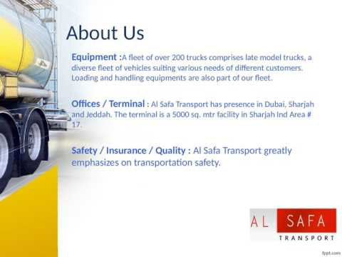 Best transport company in Kuwait-Al Safa Transport