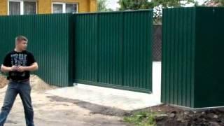 Автоматические откатные ворота(, 2013-02-10T10:43:54.000Z)