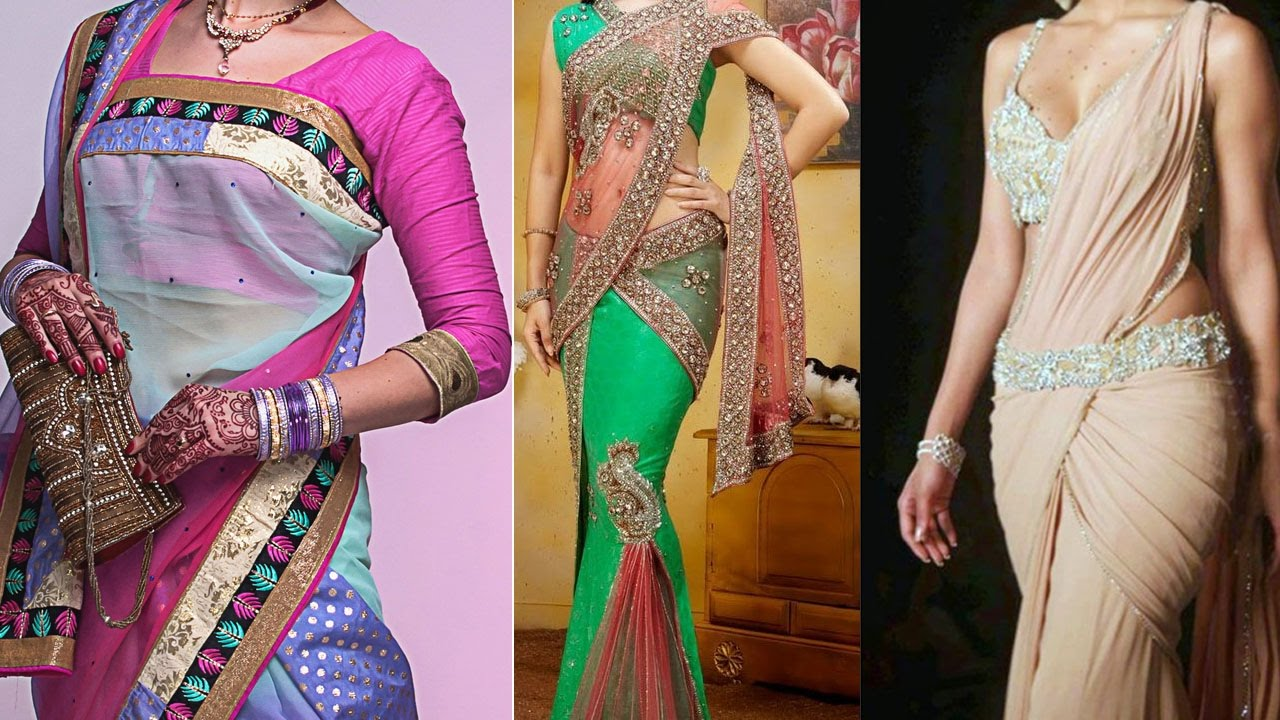 Different hairstyles to try with sarees - 3 Different Styles Of Wearing Saree To Look Slim And Tall Tips Ideas To Drape Saree Pallu