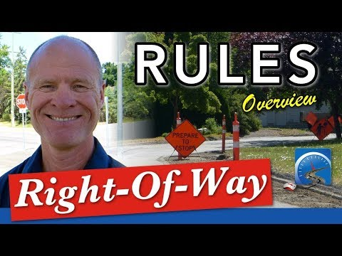 How to Determine Right-of-Way...and When to Go :: SS #57