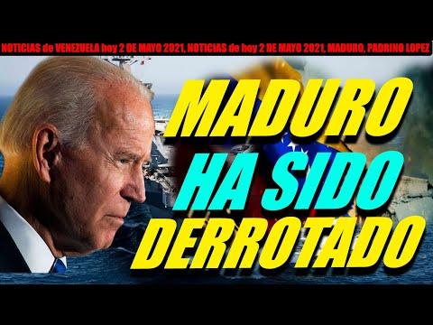 NOTICIAS de VENEZUELA hoy 2 DE MAYO 2021, NOTICIAS de hoy 2 DE MAYO 2021, MADURO, PADRINO LOPEZ