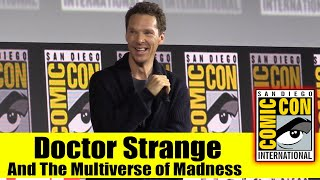Download DOCTOR STRANGE AND THE MULTIVERSE OF MADNESS | 2019 Comic Con Panel (Benedict Cumberbatch) Mp3 and Videos