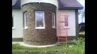 Фасад дома своими руками (фото и видео)