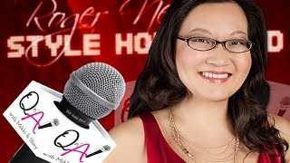 HELEN HONG of Nickelodeon's THE THUNDERMANS OSCARS Interview at Roger Neal Pre-Oscar Suites 2014