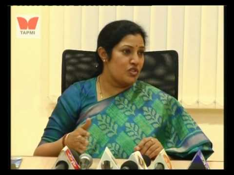 Conovocation-2010 Ms. Purandeswari - Press Conference