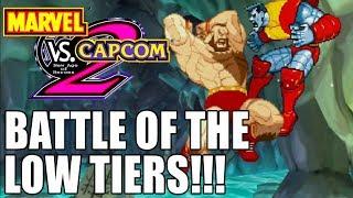Low Tier Showdown!! Marvel vs Capcom 2 Online Gameplay!!