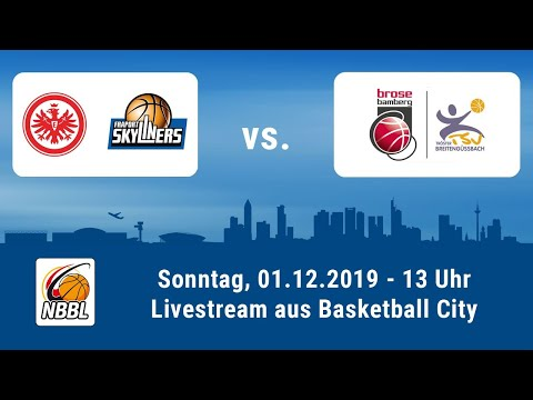 Livestream - NBBL Heimspiel Der Eintracht Frankfurt / FRAPORT SKYLINERS Gegen Bamberg