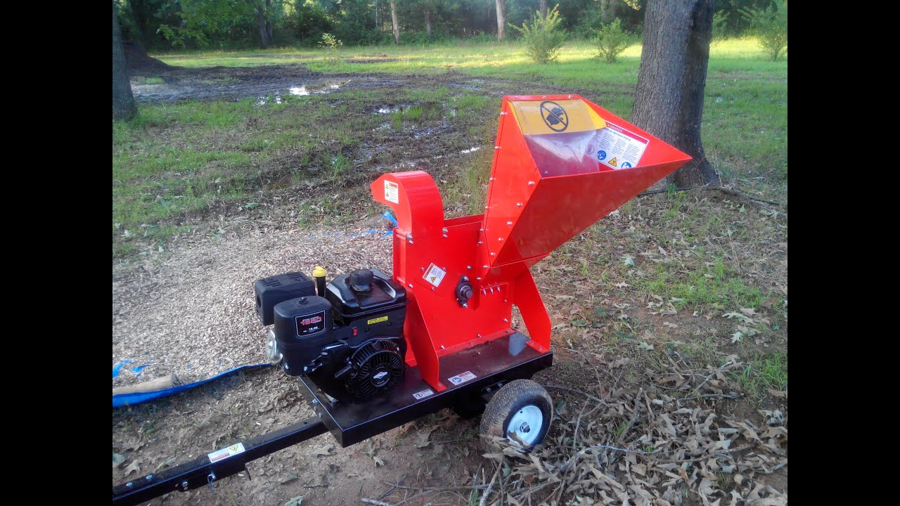 Dr Wood Chipper 16 5 Self Feeding Review And First Use