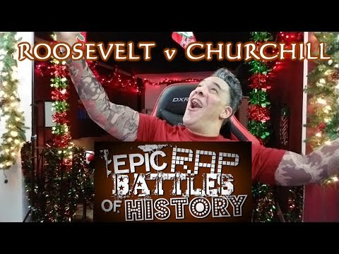 Theodore Roosevelt vs Winston Churchill. Epic Rap Battles of History REACTION